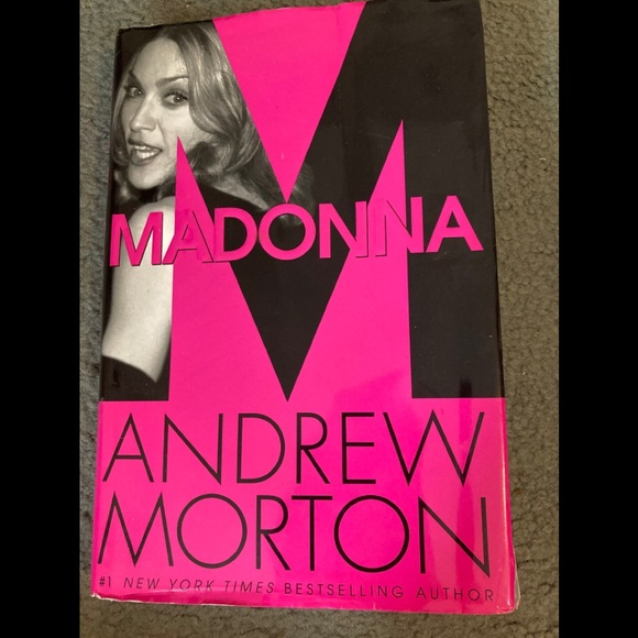 Madonna hard cover book